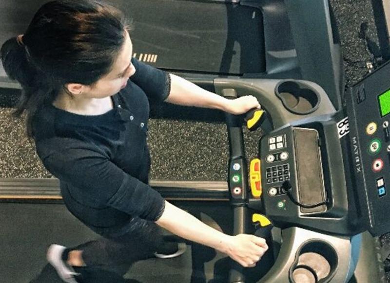 Becky Conti Treadmill