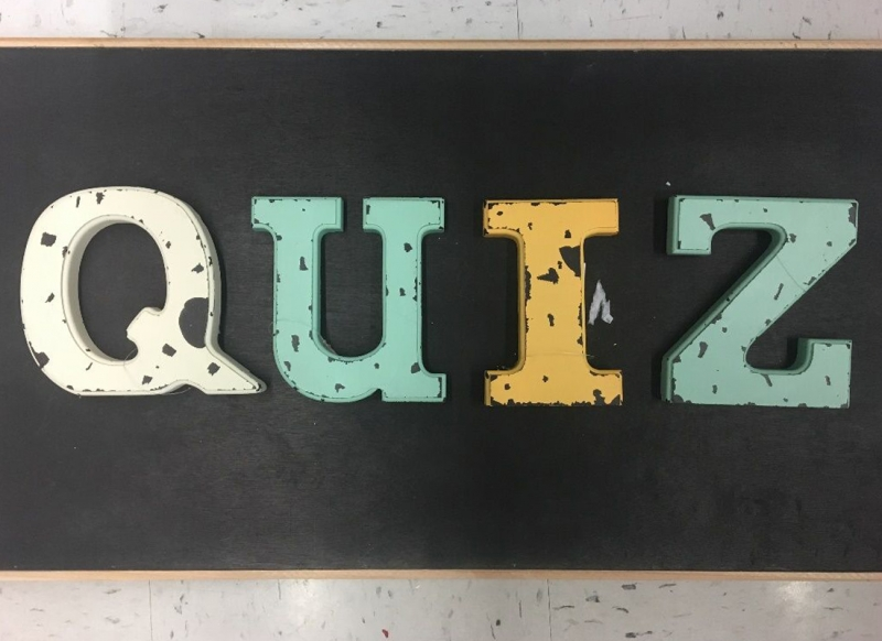 QUIZ in Letters