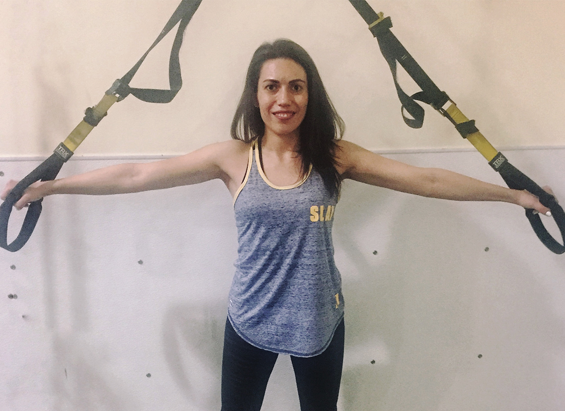 Becky Conti TRX Workout