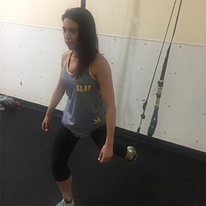 Becky Conti TRX Leg