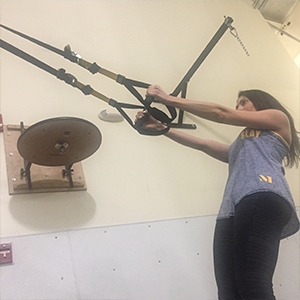 Becky Conti TRX Arms