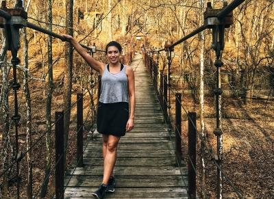 Becky Conti Wooden Bridge