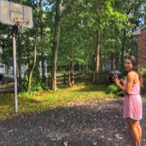 Becky Conti Backyard Basketball