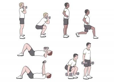 BeckyFIT Illustration Multi-Joint Workout
