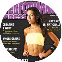 Becky Conti Magazine Cover