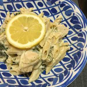 Chicken Alfredo Makeover